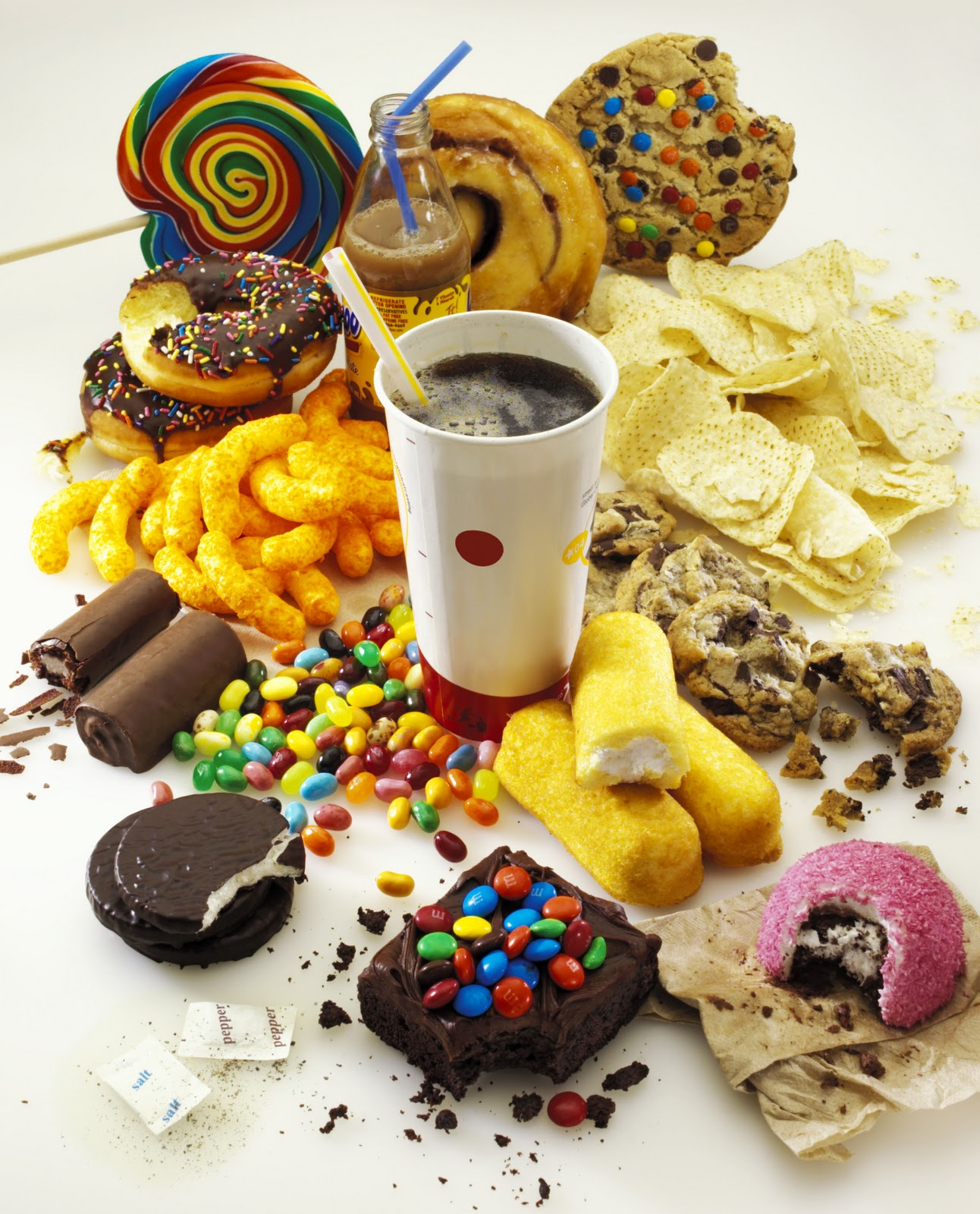 unhealthy food nutrition at Bradley Chiropractic Nutrition Center